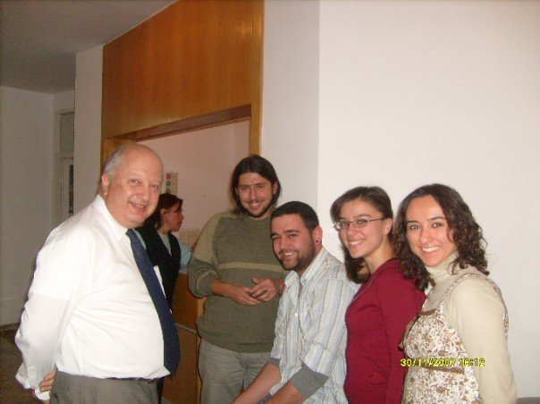 With friends -- Bilkent University, Turkey