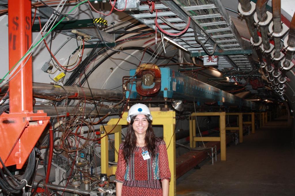 Tevatron tunnel, Fermilab, IL