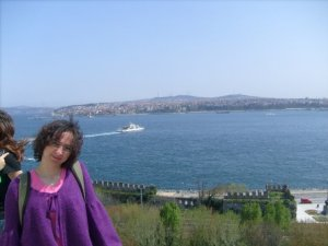 View from the Topkapi Palace, Istanbul, Turkey