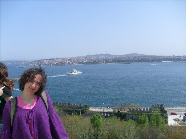 View of Bosphorus from the Topkapi Palace